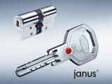 Zamykací systém Janus s plochými klíči